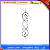 ornamental wrought iron hand railings/outdoor wrought iron stair railing
