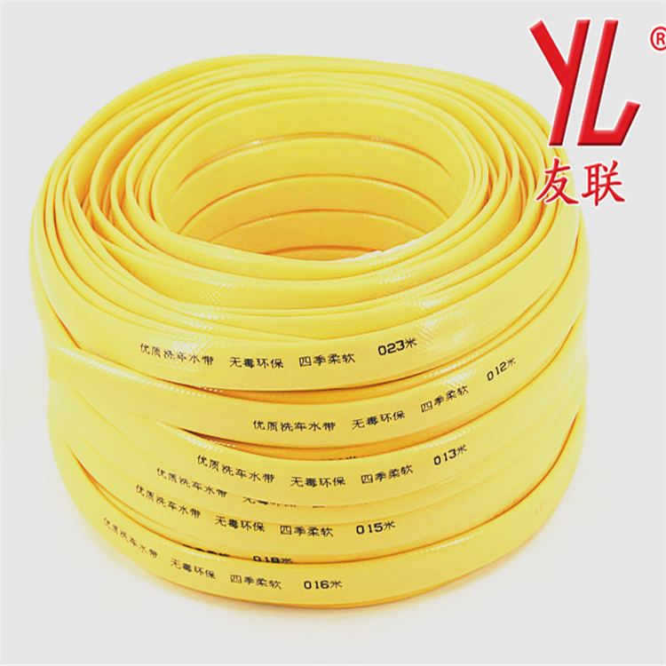 12mm Multi Colors Non Smell layflat Fiber Braided PVC Garden Water tube