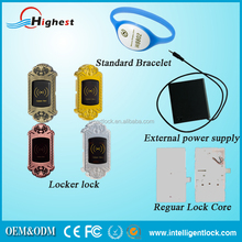 Zinc Alloy RFID id card locker lock for cabinet lock with smart card unlock