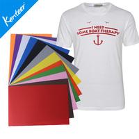 Kenteer 15 colors PU vinyl sheet for cutter