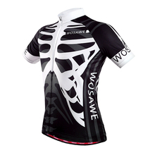 China Custom Cycling Jersey wholesale specialized Skeleton cycling jersey for Bike team