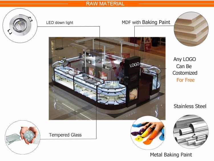 High Quality Custom Retail Jewellery Shop Counter Design ...