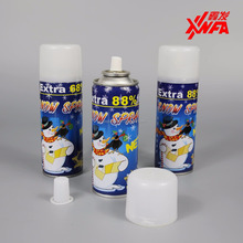 Wholesale Eco-Friendly Colored Joker Snow Spray WIth Best Quality For White Party Decorations