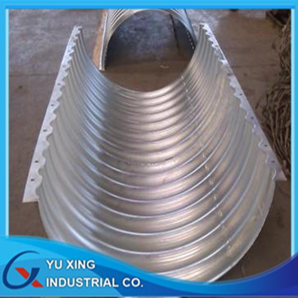 Corrugated Metal Stormwater Pipe