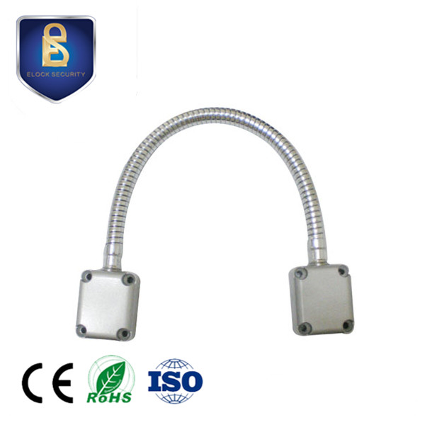 Access Control Kind-Hearted Door Loop Electric Exposed Mounting Protection Cable Line For Control Lock Door Lock Stainless Steel Sleeve Access Control