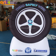 advertising inflatable tyre ( promotion,car,sale,replica,tire balloon )