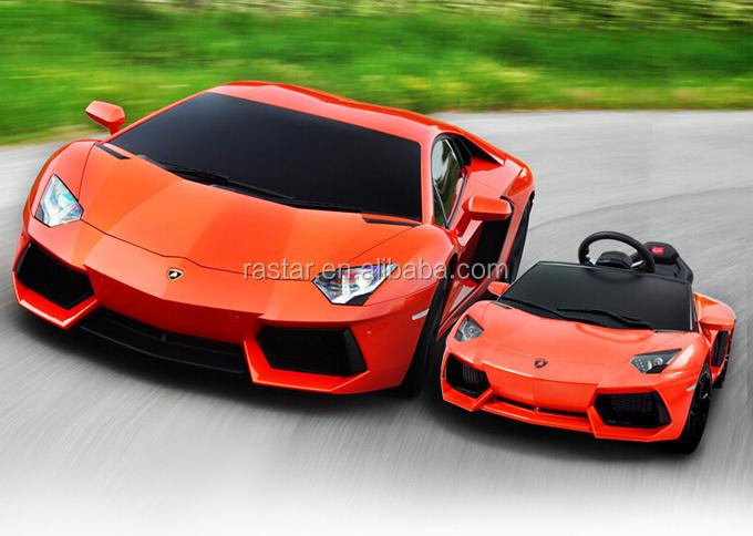 Lamborghini Electric Baby Car 6v Ride On Car With Remote Control ...