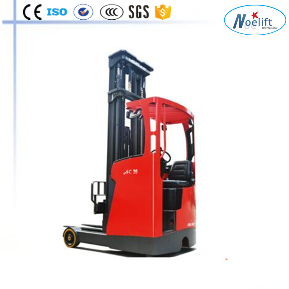 loading goods vehicles via dock levelling loading bays seated 1.6 tons 2.0tons 1600kg 2000kg 3m 6m 7.5m electric reach truck