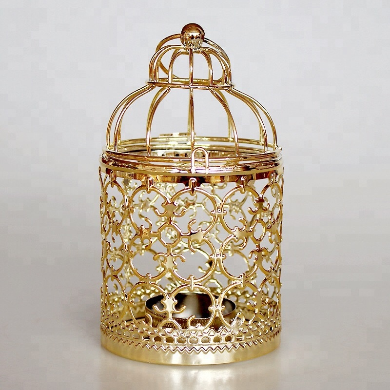 Bird cage <strong>wedding</strong> lanterns for event home table decoration