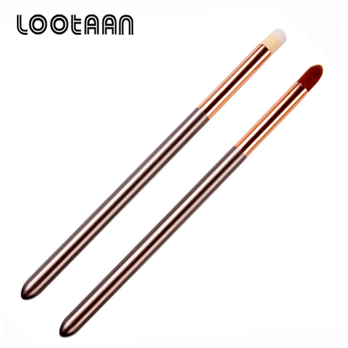 2018 New Cosmetics Beauty Tools Synthetic Make Up Eye Shadow Eyebrow Lip Makeup Brushes Private Label