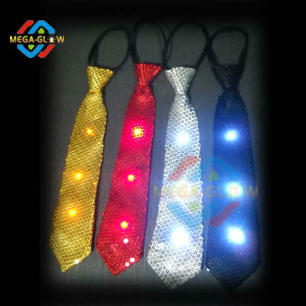 silver sequin tie silver sequin tie suppliers and manufacturers at alibabacom - Light Up Christmas Tie