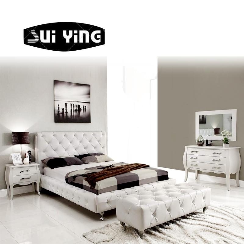 Customized modern European furniture bedroom set A041, View Modern European  furniture bed, SUIYING Product Details from Foshan Hong Sui Xiang ...