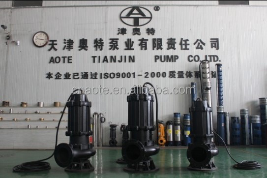 sewage pump for world market