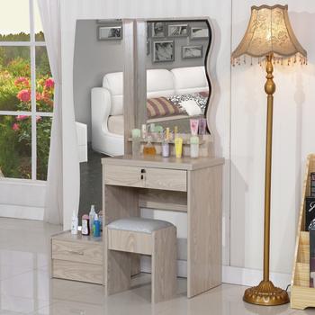 Mdf Melamine Dresser With Stool Full Length Mirror View Melamine