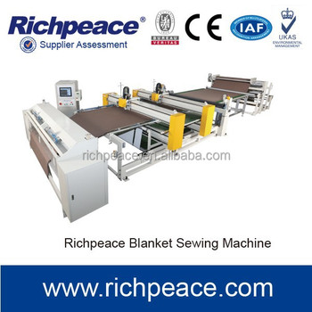 Blanket manufacturing Sewing Machine For Fabric Of Different Thickness