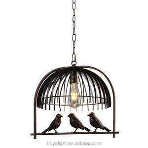 Industrial Vintage Lighting Design Cage Chandelier