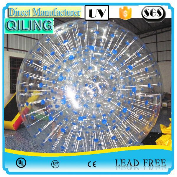 2017 qiling Good sale sport toy new innovative water walking zorb ball for sale