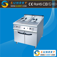 Commercial butterball turkey fryer with cabinet 40 liters chicken machine (SY-GF700B SUNRRY)