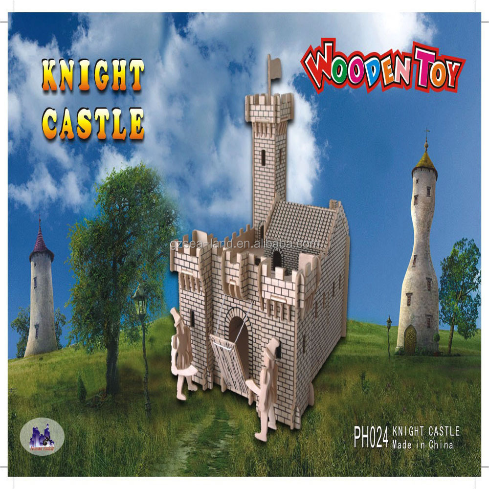 Mini Wooden Knight Castle Puzzle Toy Buy Wooden Knight Castle Puzzle Toy3d Wooden Puzzle Castleswooden Puzzle Game Product On Alibabacom