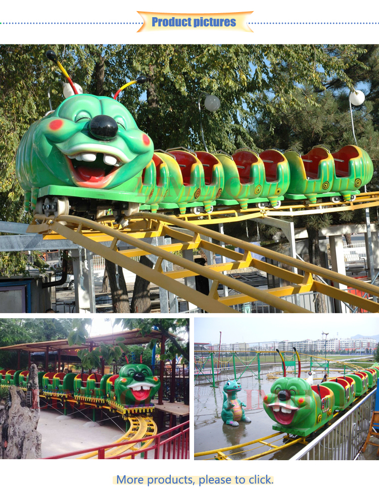 Big amusement park project roller coaster in china