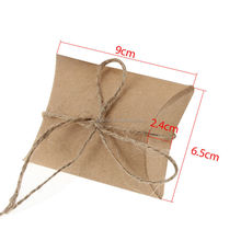 High quality kraft paper bag candy packaging chocolate box packaging