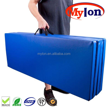 thick yoga mats fitness panel folding home gymnastics itm exercise mat gym