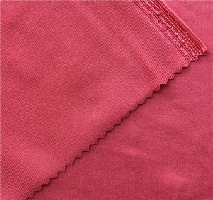 Attractive color shiny 83 polyester 17 spandex lycra recycled swimwear fabric