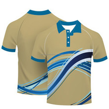 High quality custom printed golf shirt