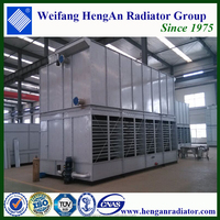 Saving Space and Power and Water Closed Circuit Cooling Tower for Selling
