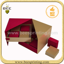 Elegant embossed gift box, high quality gift box, 2012 best selling packing boxes