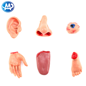 Wholesale artificial plastic human body parts toys for Funny Prank Halloween