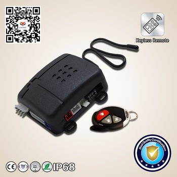 Best Price Security System One Way Car Alarm System With Engine Push