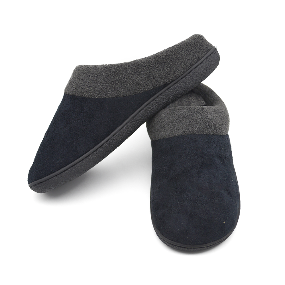 Cozy Memory Foam <strong>Slippers</strong> Fuzzy Wool-Like Plush Fleece Lined House Shoes w/Indoor, Outdoor Anti-Skid Rubber Sole