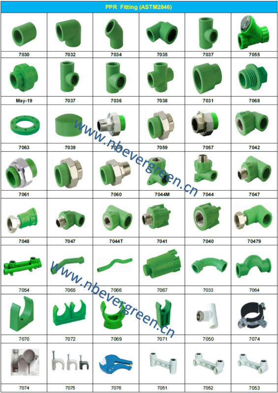 Upvc cpvc pprc pipe fittings elbow