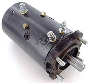 Winch Motor Ramsey Liftmore Hydraulic Pump Bi Directional Heavy Duty 4.8HP Double Ball Bearing 2100 RPM 3-Post 12V