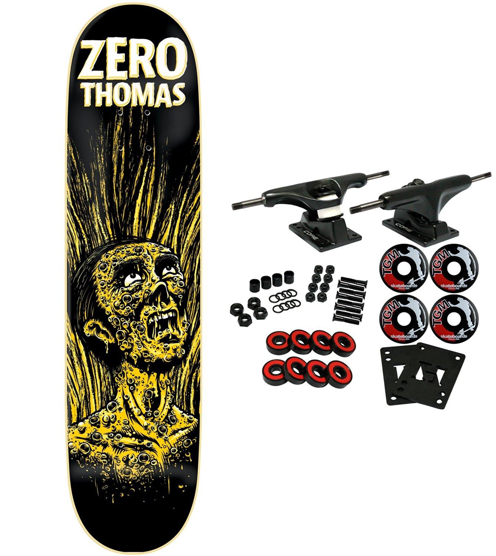 """ZERO Skateboard Complete APOCALYPSE JAMIE THOMAS 8.25"""" IMPACT LIGHT"""