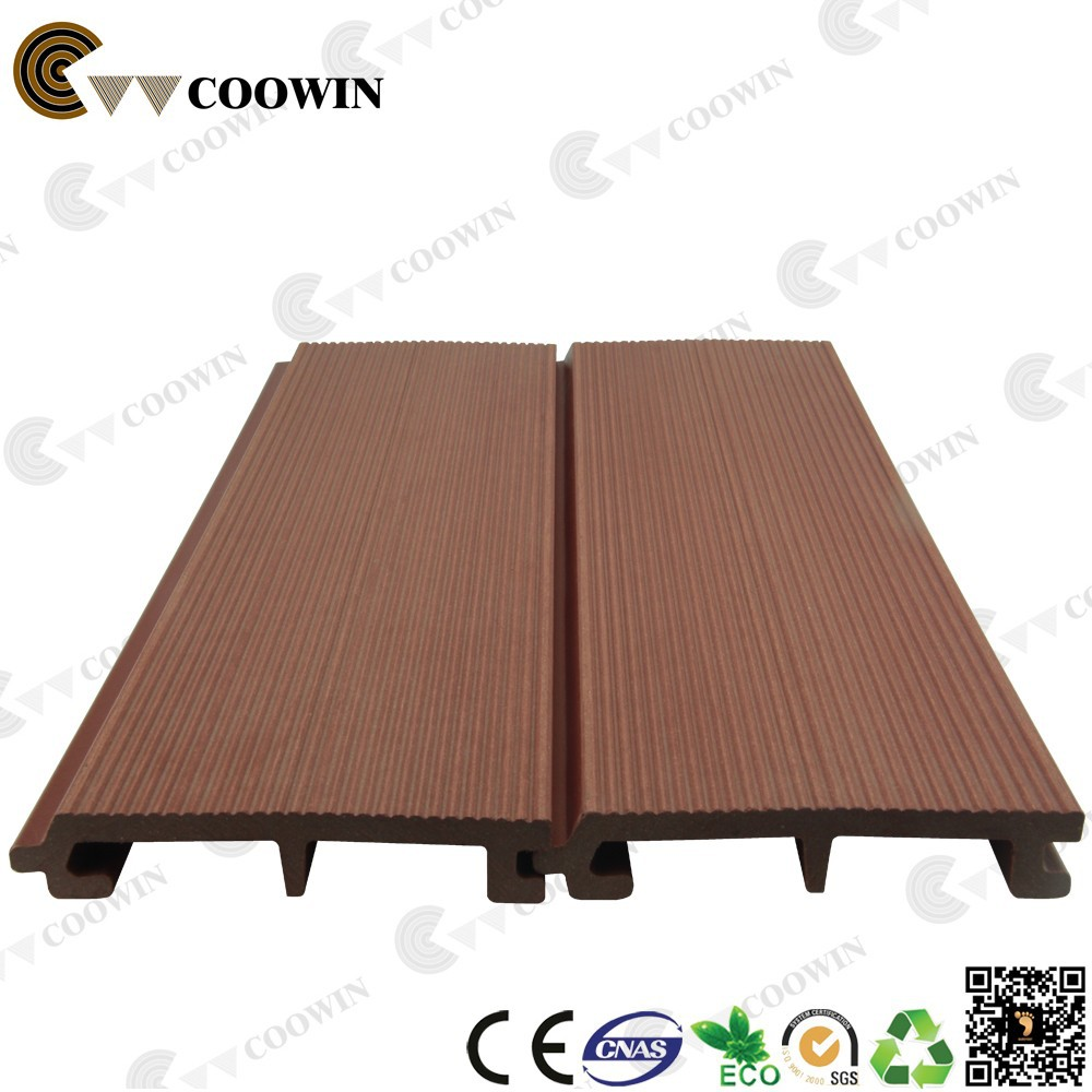 Wood composite panel wall external
