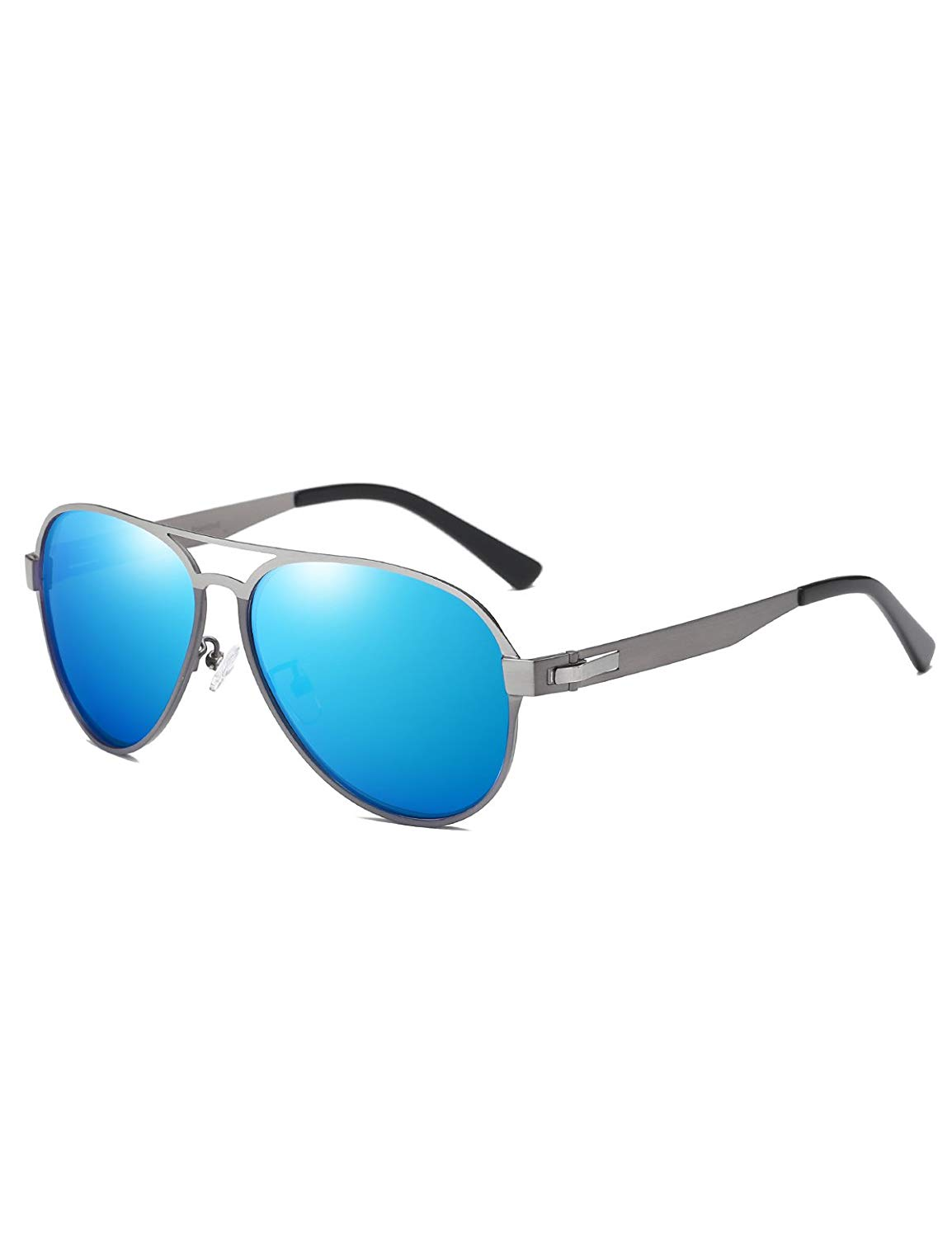 b2510b1459 Get Quotations · DUCO Aviator Metal Frame Sunglasses for Men 100% UV  Protection by UV 400 Coated Protection