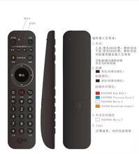 OEM di disegno 2.4g bluetooth 4.0 input vocale IR + RF <span class=keywords><strong>tv</strong></span> remote <span class=keywords><strong>controller</strong></span> 31 tasti, con ricevitore USB