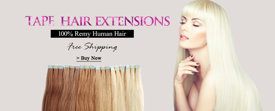 Wholesale Cheap 100 Human Hair Sticker Hair Extensionstape In