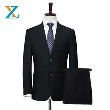 Wholesale men classic western style business suit newest design wedding business slim fit 3 piece men suit