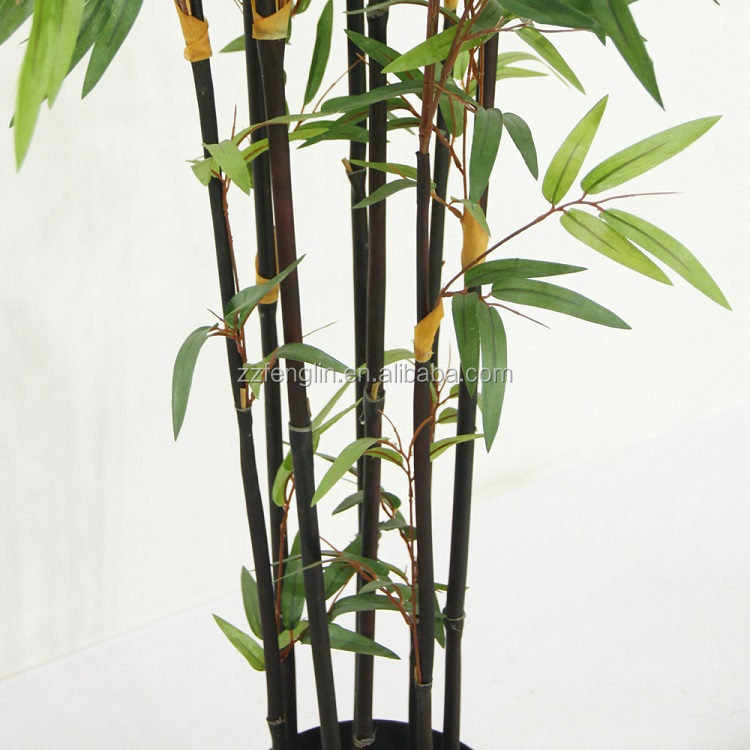 High Quality Whole Artificial Black Bamboo Trees For Indoor Outdoor Decoration