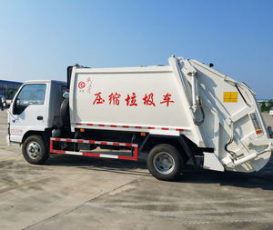 FAP 3tons Japan I-SUZU small compactor garbage collection truck, garbage compactor