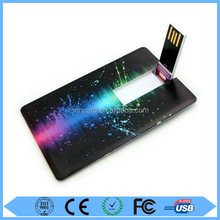 Bulk item 32gb grade a quality ultra thin bank card pen drive