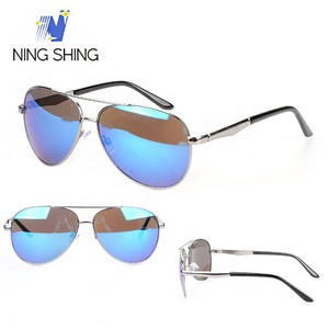 Wholesale Custom made fashion women stainless steel polarized sunglasses