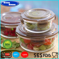 Clip Fresh Easy Lock Glass Food Storage Container