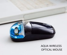 custom design funny computer aqua mouse wireless