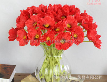 Decorative artificial plastic poppy flowers mini poppy flower buy decorative artificial plastic poppy flowers mini poppy flower mightylinksfo