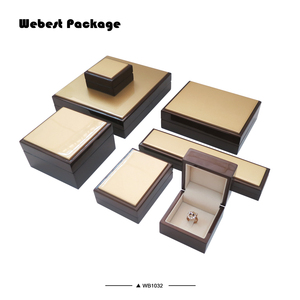 Webest fashion ring earring pendant bangle necklace wooden jewelry packaging box wholesale