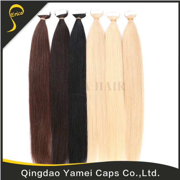 Most Popular Virgin Hair Tape For Hair Extension Super Tape Tabs Sheets